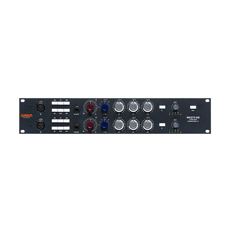 Preamps/Channel Strips - Warm Audio WA273-EQ  Dual Channel Classic 1073 Style Preamp With EQ