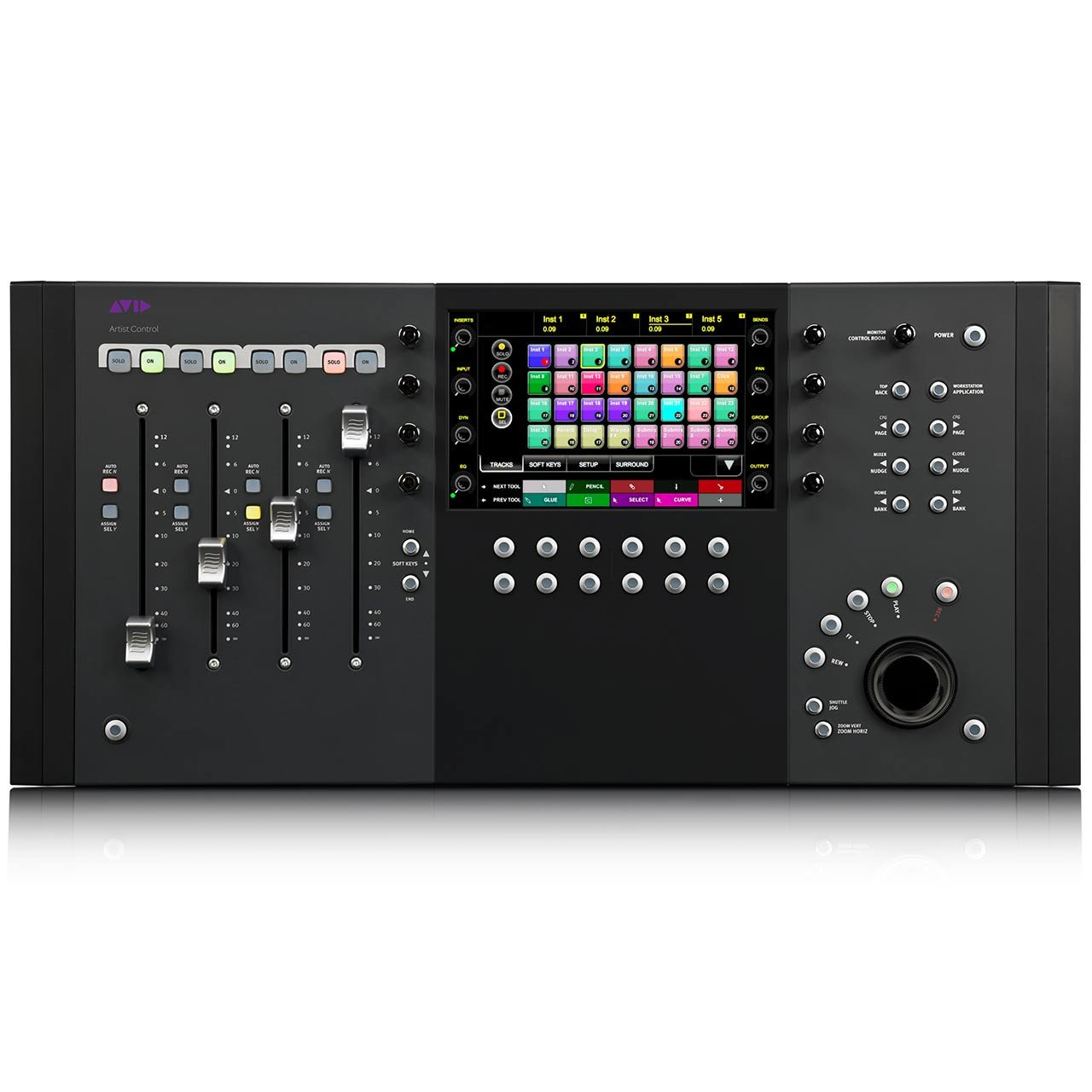 Pro Tools Control Surfaces - Avid Artist Control V2 - Control Surface