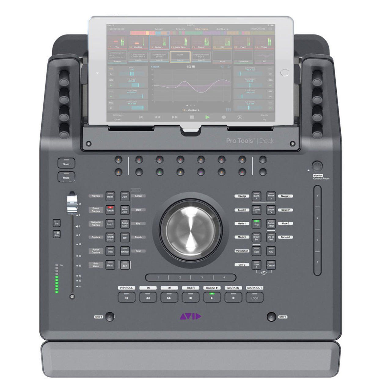 Pro Tools Control Surfaces - AVID Pro Tools Dock Media Controller