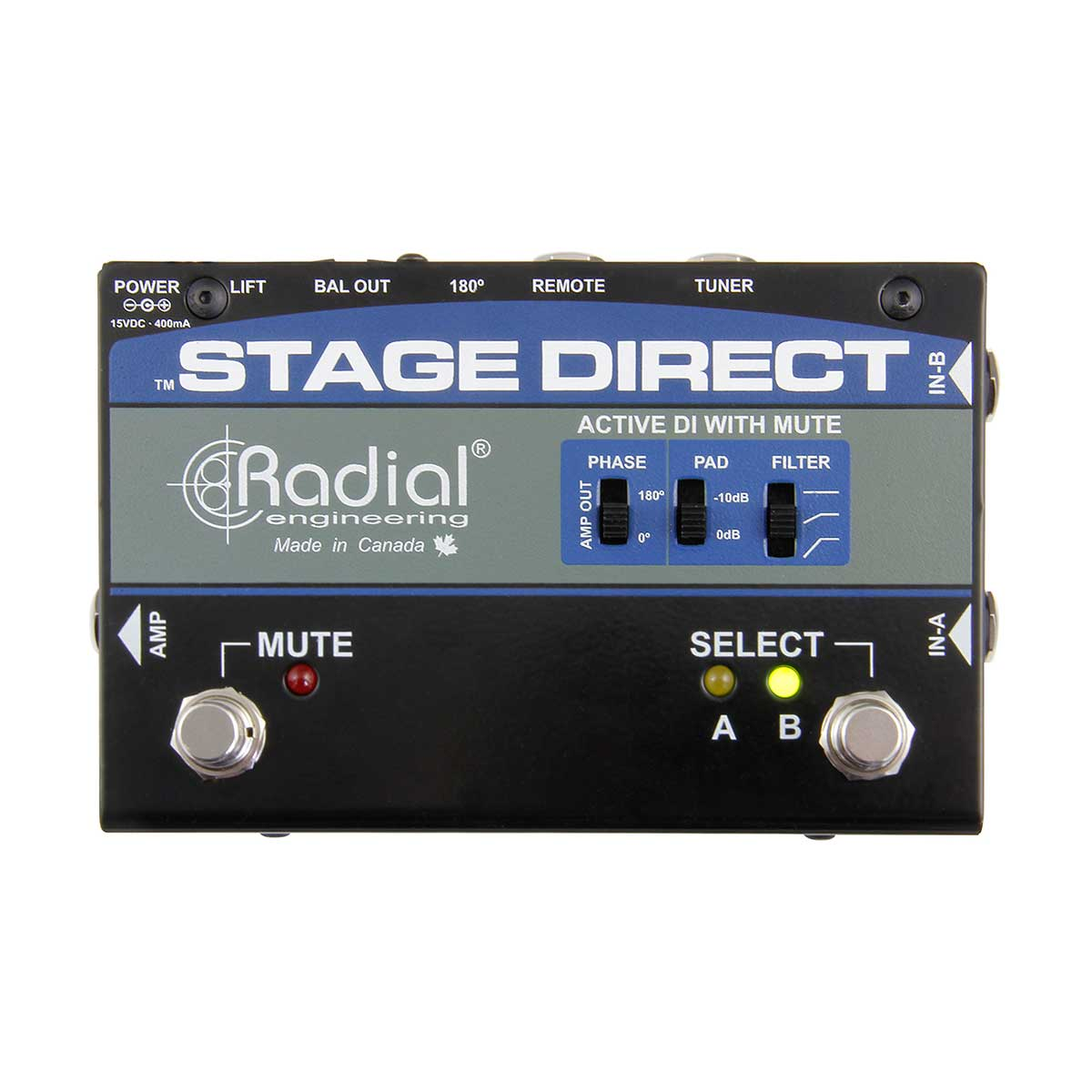 Radial Stage-Direct Stage DI