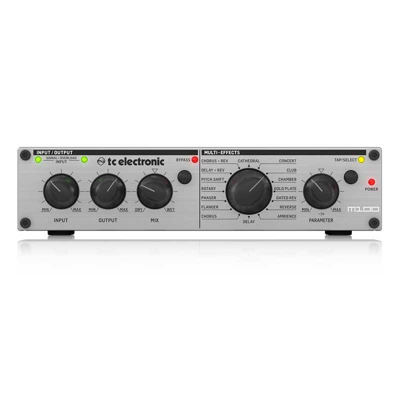 Reverb / Effects - TC Electronic M100 Stereo Multi-Effects Processor With 16 TC Reverbs And Multi-Effects