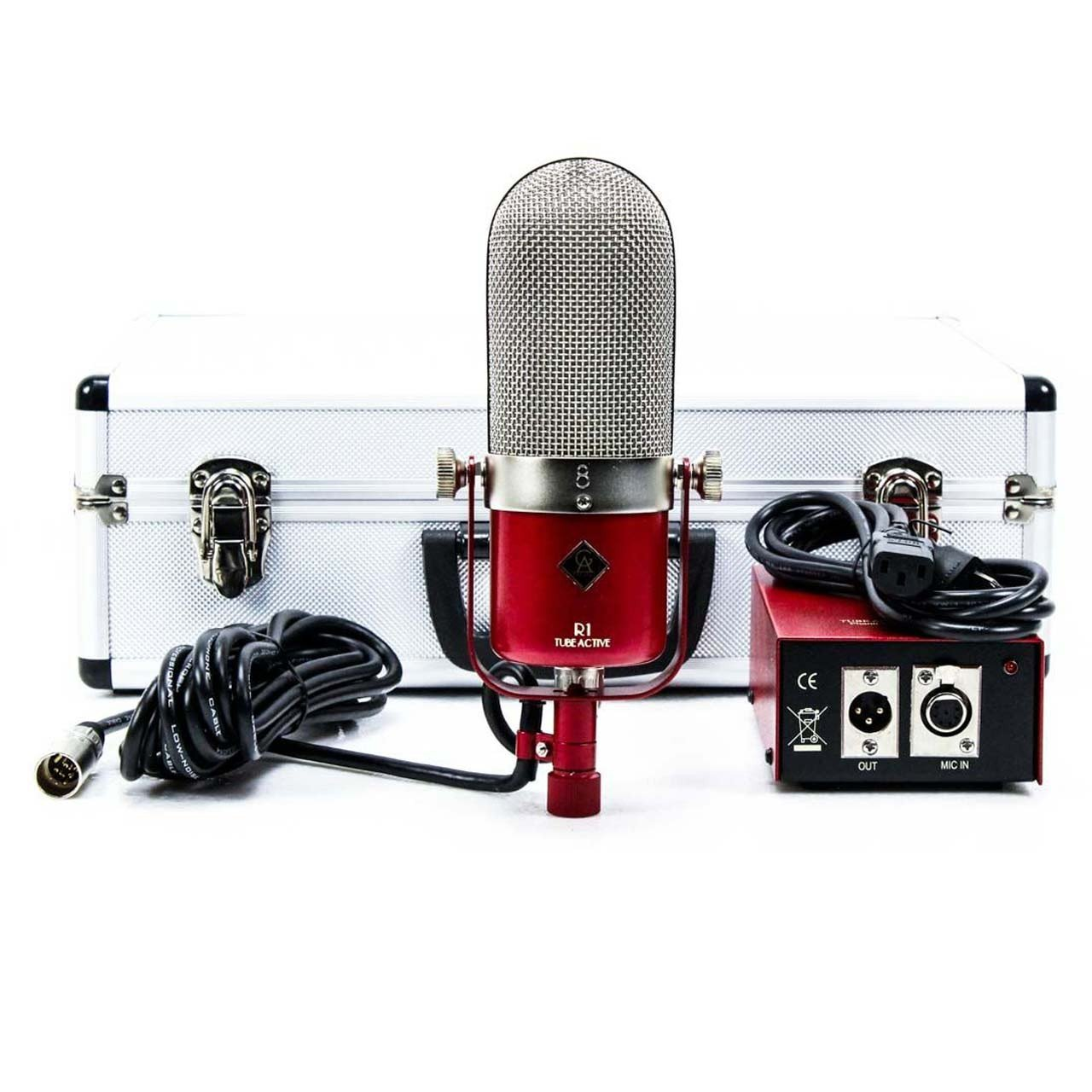 Ribbon Mics - Golden Age Project R 1 Tube Active - Active Ribbon Microphone With Tube Electronics
