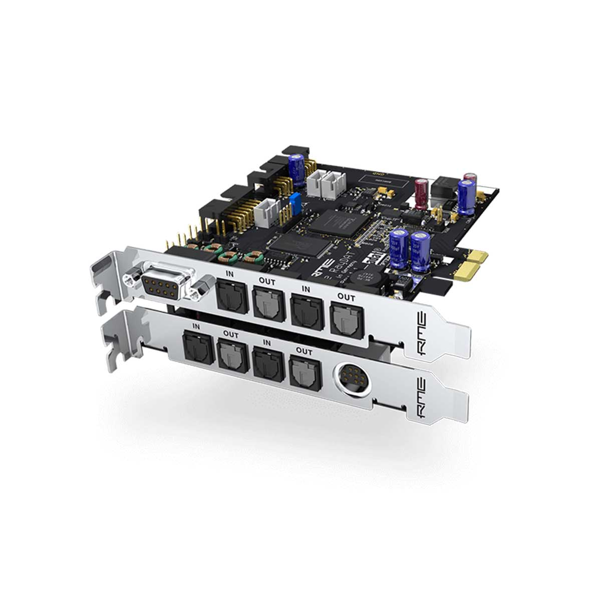 RME HDSPe RayDAT 72-channel PCI Express Audio Interface Card with ADAT, SPDIF and AES/EBU IO