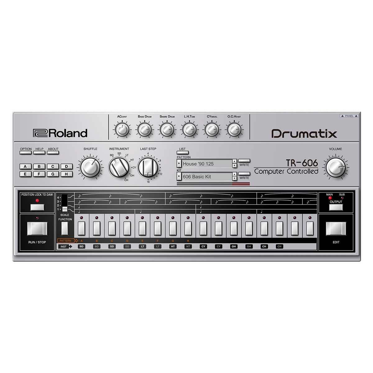 Roland Cloud TR-606 Software Rhythm Composer  Lifetime Key