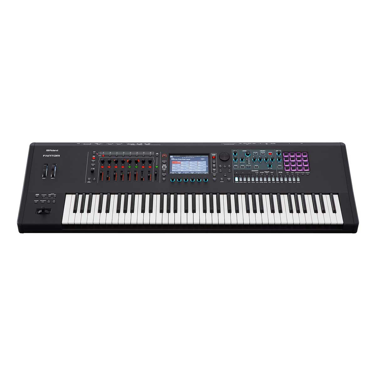 Roland Fantom 7 semi-weighted Keyboard Synthesizer Workstation with 76 keys and aftertouch