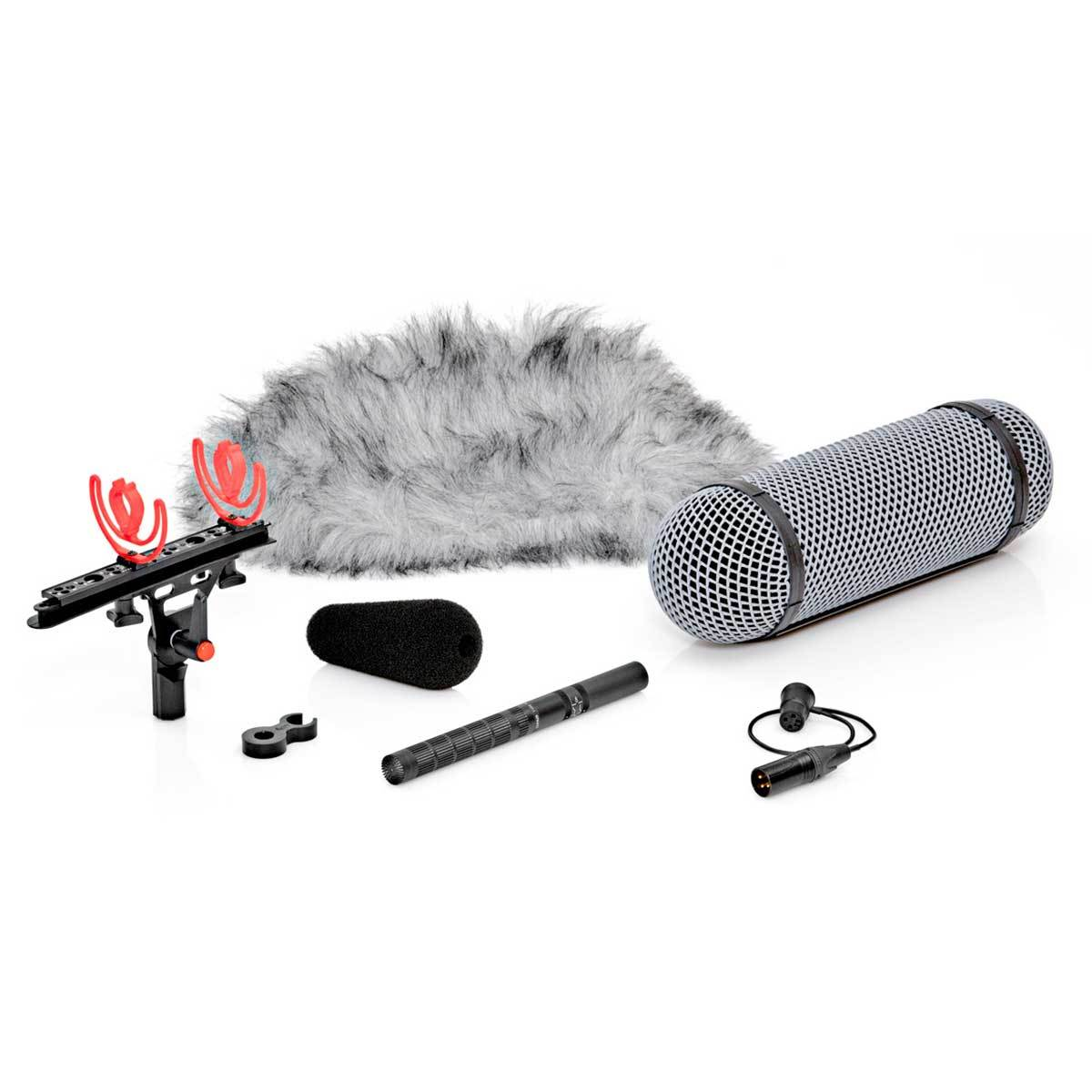 Shotgun Microphones - DPA D:dicate™ 4017B-R Shotgun Mic With Rycote Windshield
