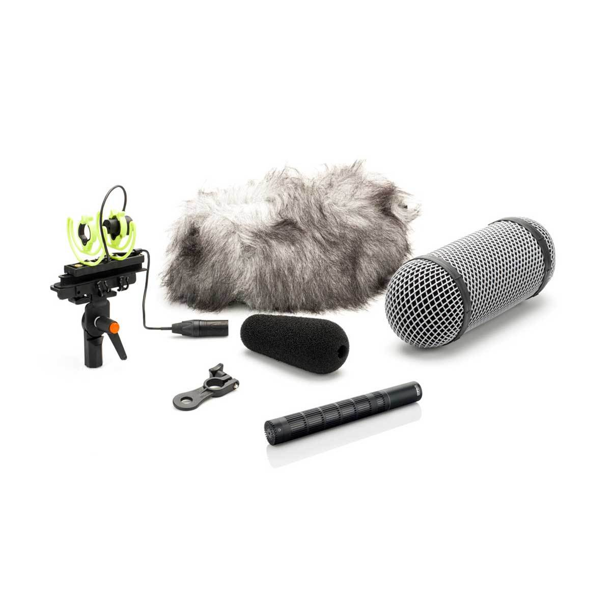 Shotgun Microphones - DPA D:dicate™ 4017C-R Compact Shotgun Mic With Rycote Windshield
