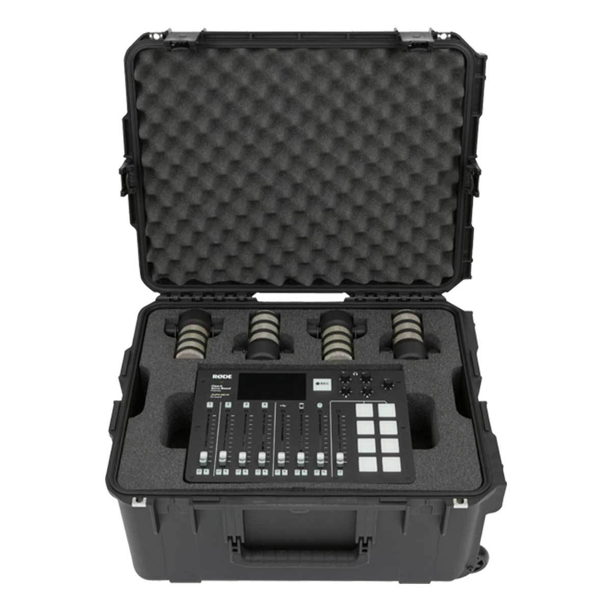 SKB iSeries Waterproof RODECaster Pro Podcast Mixer Ultimate Case