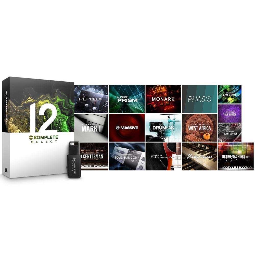 Native Instruments Komplete 12 Select Production Software
