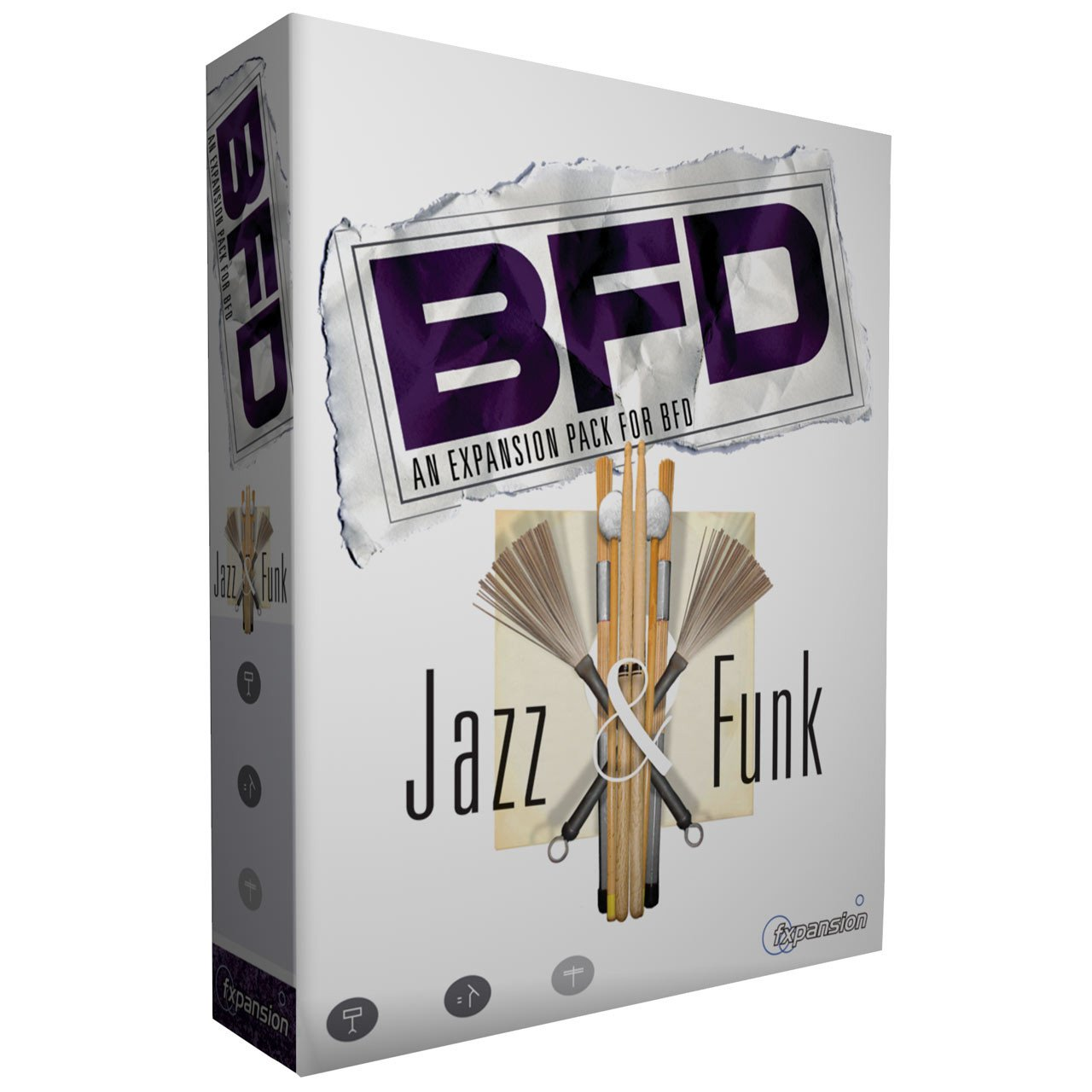 Software Instruments - FXpansion BFD Jazz & Funk Expansion Pack