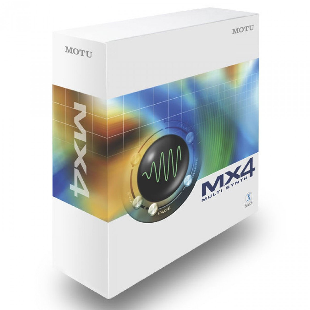 Software Instruments - MOTU MX4 Multi Synth Software Instrument