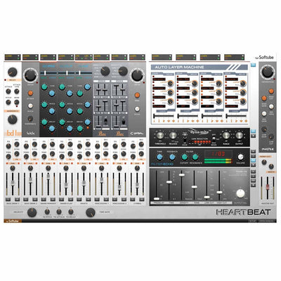 Software Instruments - Softube Heartbeat - Drum Synth
