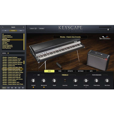 Software Instruments - Spectrasonics Keyscape - Collector Keyboards Software Instrument
