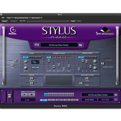 Software Instruments - Spectrasonics Stylus RMX XPANDED Software Drum Instrument
