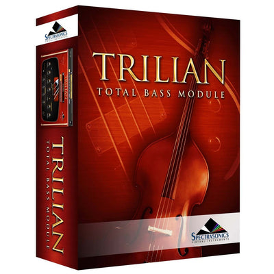 Software Instruments - Spectrasonics Trilian Total Bass Module Software Instrument