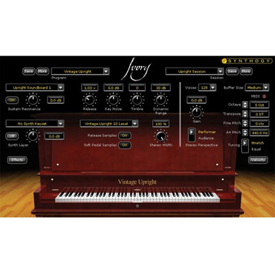 Software Instruments - Synthogy Ivory II Upright Pianos Software Instrument