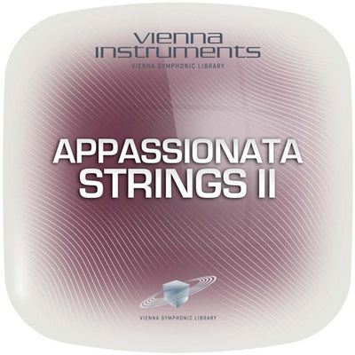 Software Instruments - Vienna Symphonic Library VSL - APPASSIONATA STRINGS II