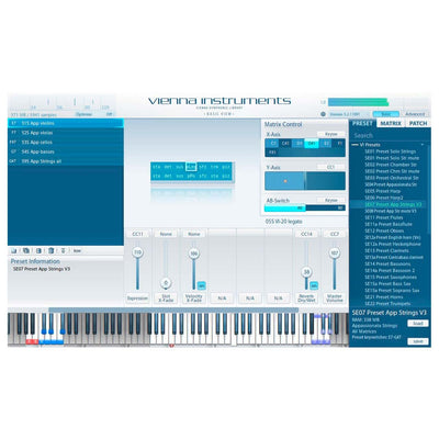Software Instruments - Vienna Symphonic Library VSL - VIENNA DIMENSION STRINGS
