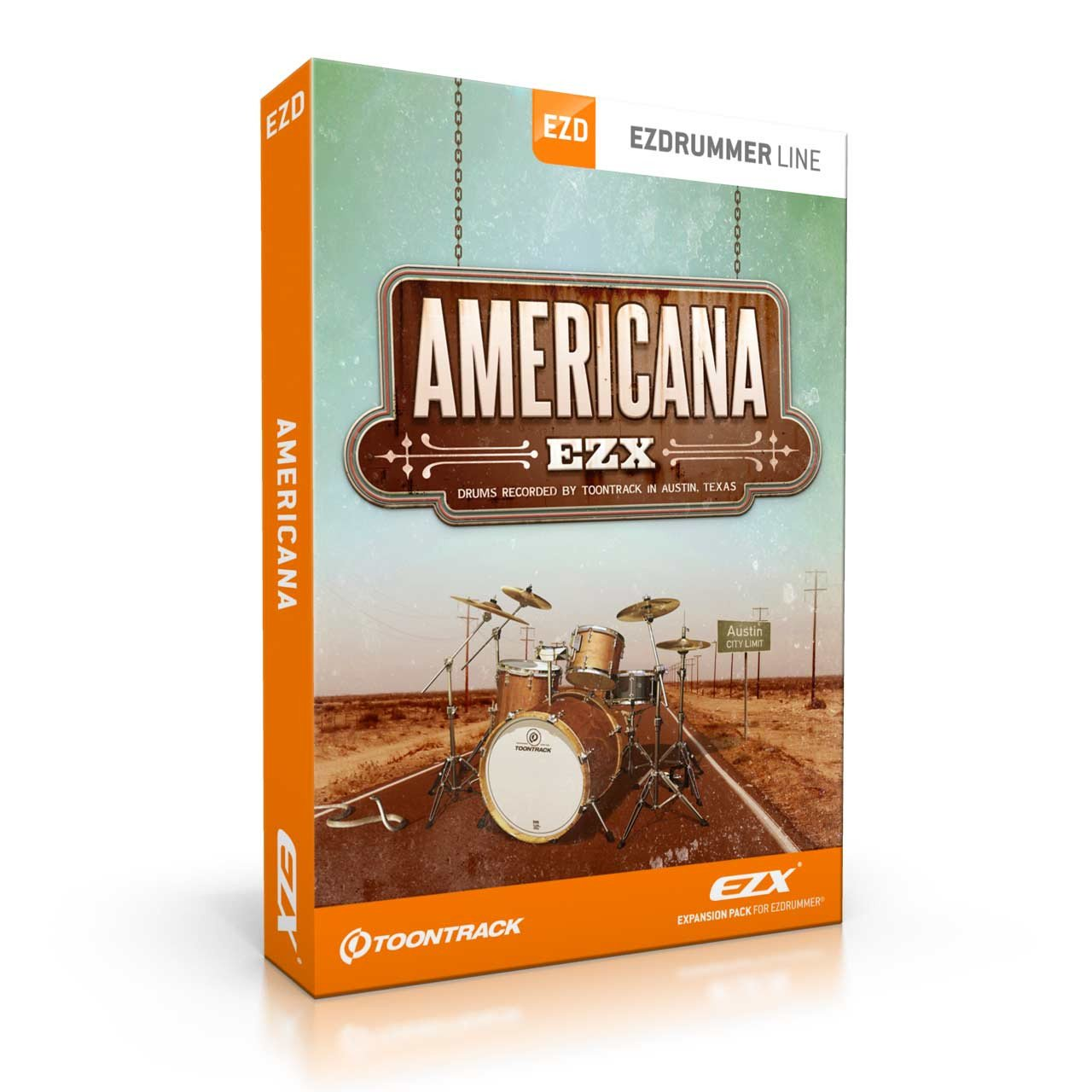 Toontrack Americana EZX EZDrummer Expansion Library