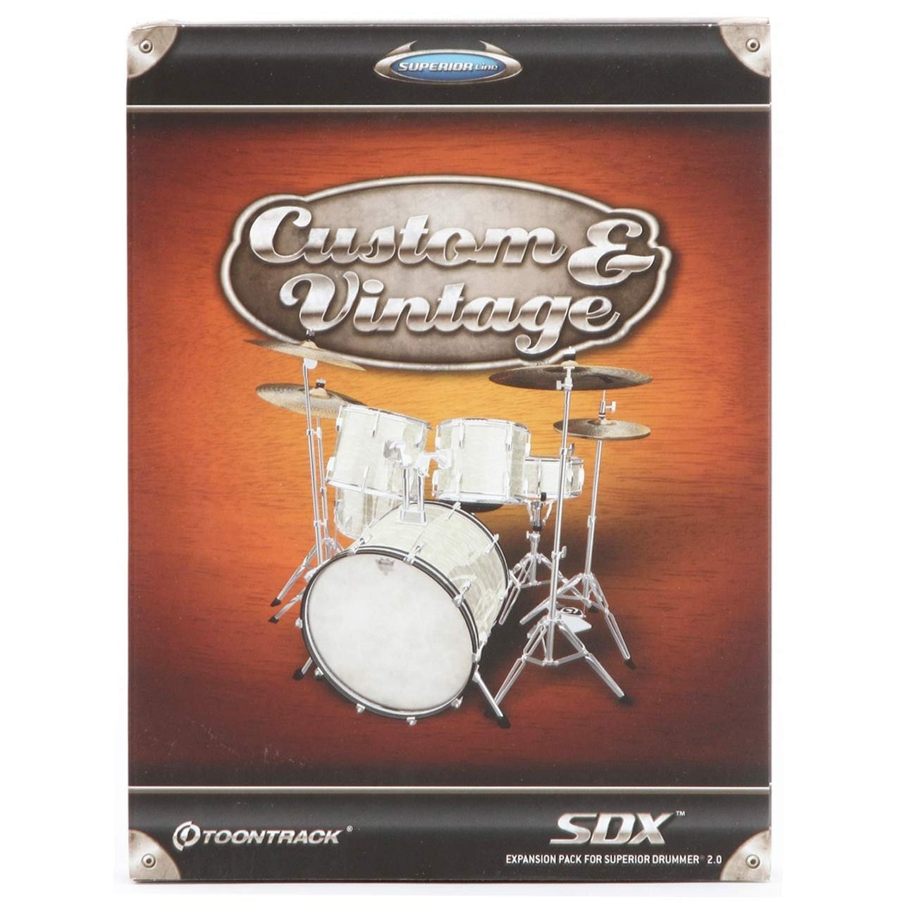 Toontrack Custom and Vintage SDX Drum Expansion Library