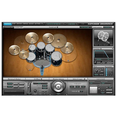 Sound Library Expansions - Toontrack Custom And Vintage SDX Drum Expansion Library