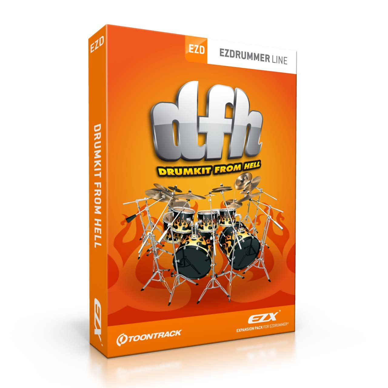 Toontrack DFH Drumkit from Hell EZX Expansion Pack
