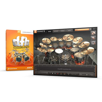 Sound Library Expansions - Toontrack DFH Drumkit From Hell EZX Expansion Pack