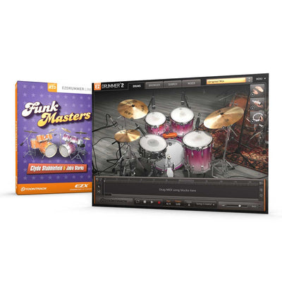 Sound Library Expansions - Toontrack Funkmasters EZX EZDrummer Expansion Pack
