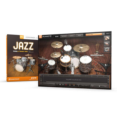 Sound Library Expansions - Toontrack Jazz EZX EZDrummer Expansion Pack