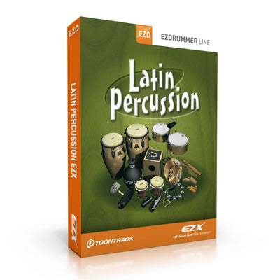 Sound Library Expansions - Toontrack Latin Percussion EZX EZDrummer Expansion Pack