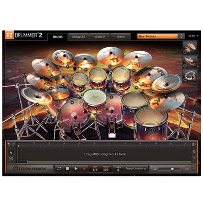 Sound Library Expansions - Toontrack Metal! EZX Expansion Pack For EZDrummer