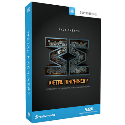 Sound Library Expansions - Toontrack Metal Machinery SDX - Sound Expansion For SD2
