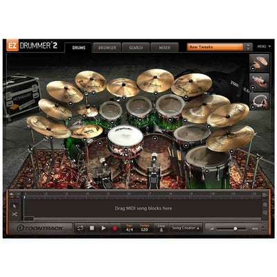 Sound Library Expansions - Toontrack Metalheads EZX Expansion Pack For EZDrummer