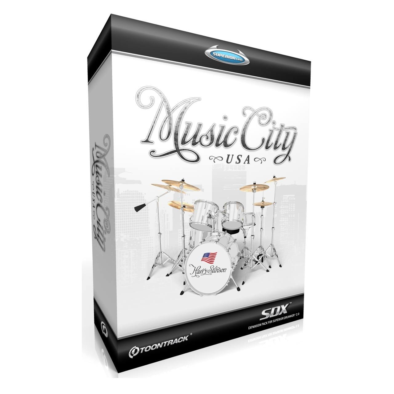 Sound Library Expansions - Toontrack Music City USA SDX Expansion