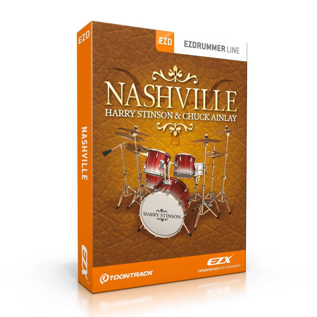 Sound Library Expansions - Toontrack Nashville EZX EZDrummer Expansion Pack
