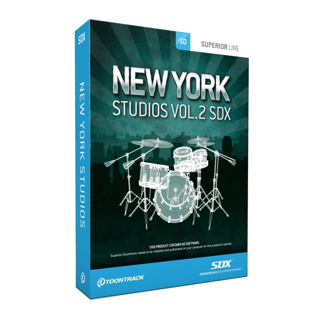 Sound Library Expansions - Toontrack New York Studios Vol.2 SDX - SOUND EXPANSION