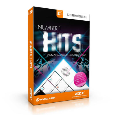 Sound Library Expansions - Toontrack Number 1 Hits EZX Expansion Pack For EZDrummer