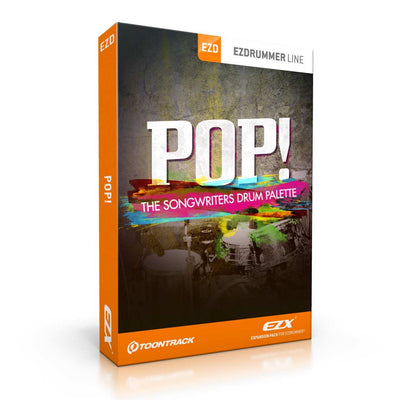 Sound Library Expansions - Toontrack POP! EZX Expansion Pack For EZDrummer