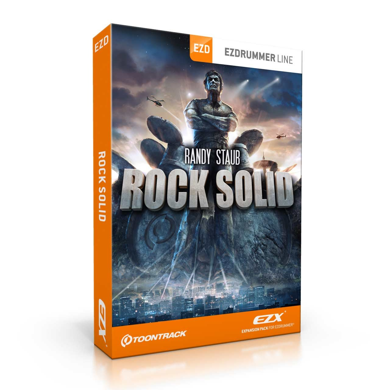Sound Library Expansions - Toontrack Rock Solid EZX Expansion Pack For EZDrummer