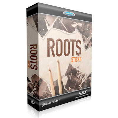 Sound Library Expansions - Toontrack Roots Sticks - SDX EXPANSION Sound Library