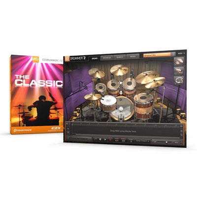 Sound Library Expansions - Toontrack The Classic EZX Expansion Pack For EZDrummer