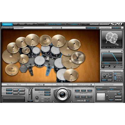 Sound Library Expansions - Toontrack The Metal Foundry SDX Expansion Pack For Superior Drummer