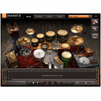 Sound Library Expansions - Toontrack Twisted Kit EZX EZDrummer Expansion Pack