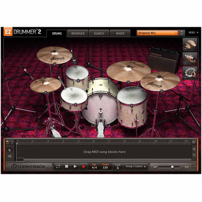 Sound Library Expansions - Toontrack Vintage Rock EZX Expansion Pack For EZDrummer