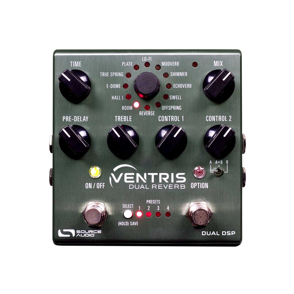 Source Audio One Series Ventris Dual Reverb