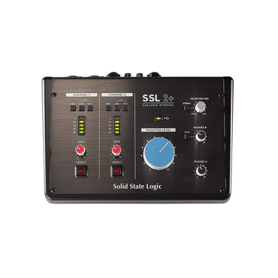 Solid State Logic 2+ 2 channel USB Interface