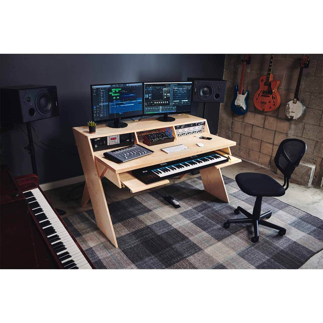 Sensational Output Platform A Studio Desk For Musicians Home Interior And Landscaping Eliaenasavecom