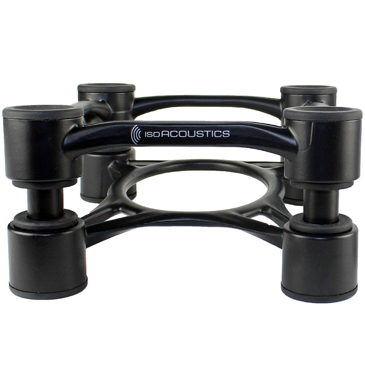 Studio Monitor Stands - IsoAcoustics Aperta 200 Sculpted Aluminum Acoustic Isolation Stands (PAIR)
