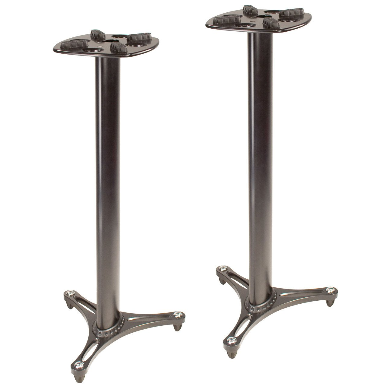 Studio Monitor Stands - Ultimate Support MS-90/45B Studio Monitor Stands