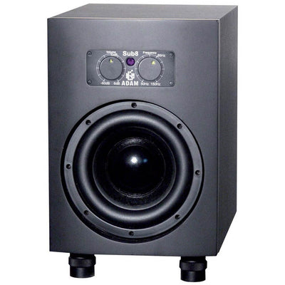 Subwoofers - Adam Sub8 Active Studio Subwoofer